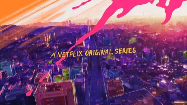 Netflixでスクショをする手順①スクショしたいシーンで、ショートカットキーを押す